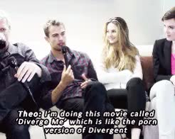 Watch Theo James and buttcheeks (x) GIF on Gfycat. Discover more 1k, divergent, divergent cast, divergentedit, gifs, mine, my edit GIFs on Gfycat