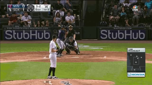 Watch and share Giolito Fastball K 3rd Adrianaza GIFs on Gfycat