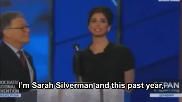 Watch Sarah Silverman @DNC - Feeling the Bern GIF on Gfycat. Discover more DNC2016, DemConvention GIFs on Gfycat