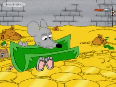 Watch and share Uncle Scrooge - The Daily Money Swim GIFs on Gfycat