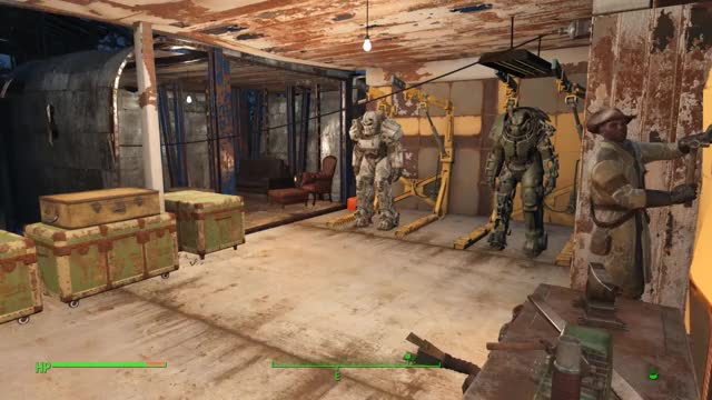 Watch and share Fallout 4 - Preston Stroking Out GIFs on Gfycat