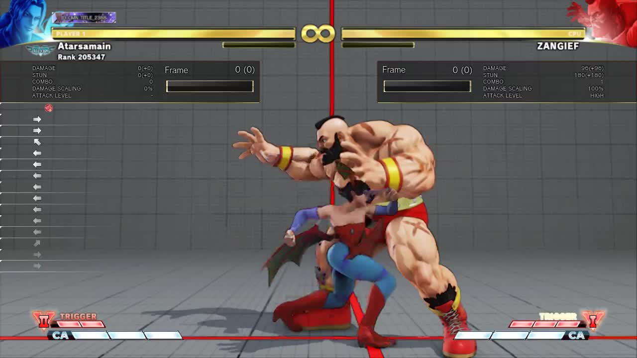 StreetFighter, Random claw combo GIFs