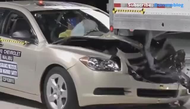 Watch and share Crash Test Car IIHS + FAIL: DEADLY WORST CRASHES EVER GIFs on Gfycat