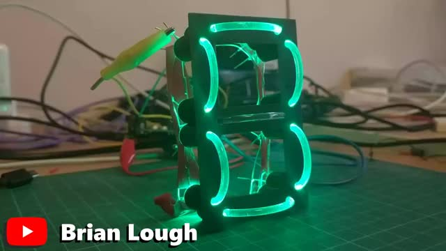 Watch and share Lightpipe 7 Segment Display GIFs by witnessmenow on Gfycat