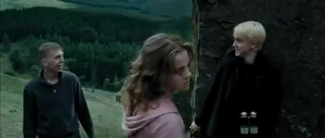 Watch and share POTTER - Hermione Punches Draco GIFs on Gfycat