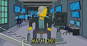 Watch and share The Simpsons GIFs and Mathematics GIFs on Gfycat