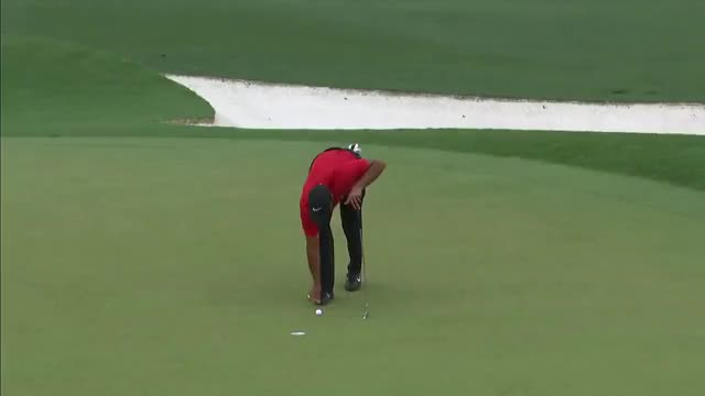 Watch and share Tiger Woods GIFs and Cbs Sports GIFs by Colby Gunther on Gfycat
