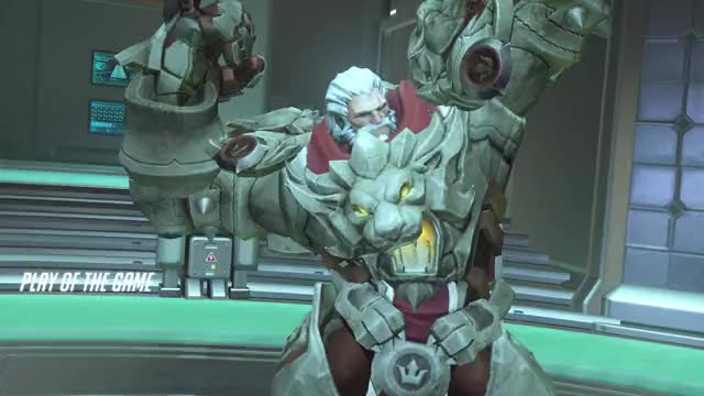 Watch and share Overwatch GIFs and Reinhardt GIFs by TheMNinjaCreed on Gfycat