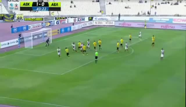 Watch and share AEK F.C.-  ΛΑΡΙΣΑ 1-1- Highlights - 07/06/2015 GIFs on Gfycat