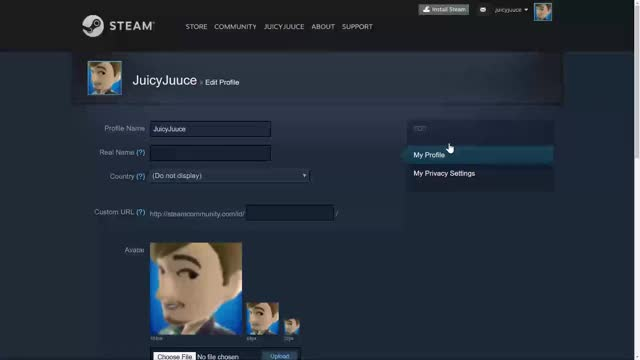 Steam profile name change GIF | Find, Make & Share Gfycat GIFs