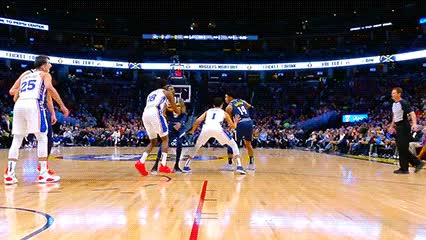 Watch Gary Harris and Nikola Jokić — Denver Nuggets GIF by Off-Hand (@off-hand) on Gfycat. Discover more 012619 GIFs on Gfycat