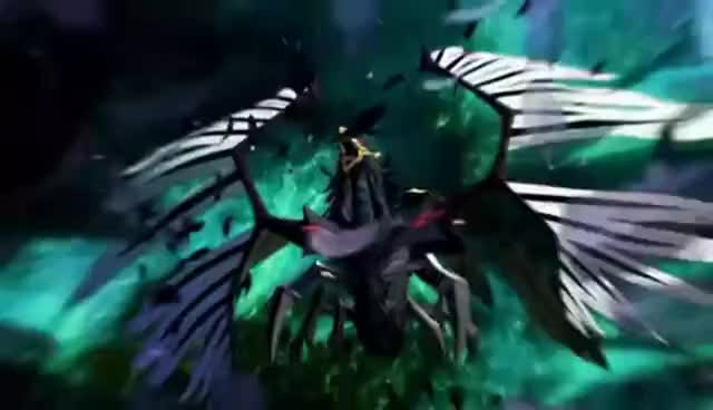 Watch and share Blackfeather Dragon GIFs and Tag Force 5 GIFs on Gfycat