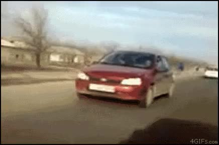 Watch and share Biker Car GIFs on Gfycat
