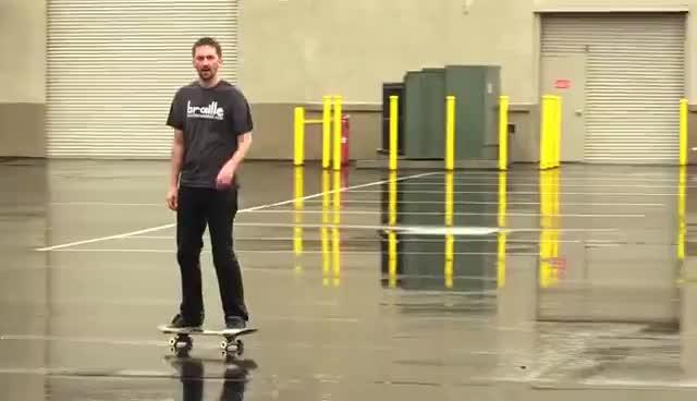 RAIN SKATEBOARDING GIFs