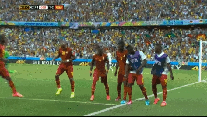 worldcup, And the Ghanaians always have a new cool dance GIFs