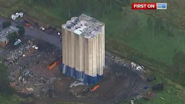 Watch and share A Giant Building Implosion In Australia Goes Wrong (reddit) GIFs by forte3 on Gfycat