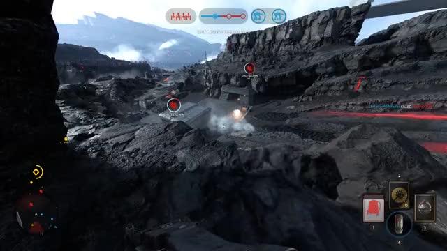 Watch WOOOOOOOOOOOOOO! GIF by @furtiveraccoon on Gfycat. Discover more starwarsbattlefront GIFs on Gfycat