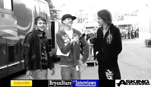 Watch and share Danny Worsnop GIFs and Bryan Stars GIFs on Gfycat