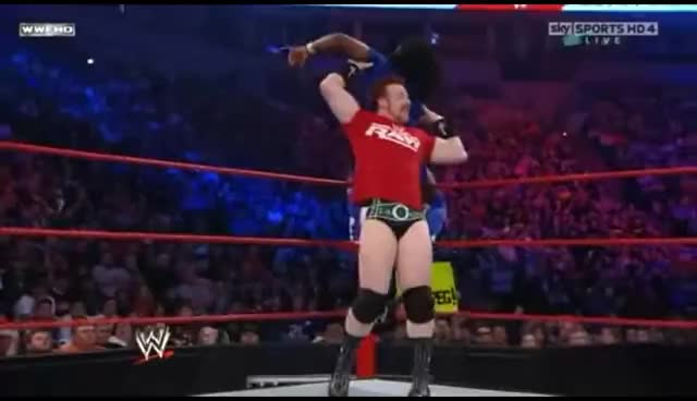 Sheamus, Team RAW, WWE, Sheamus Pale Justice Finisher GIFs