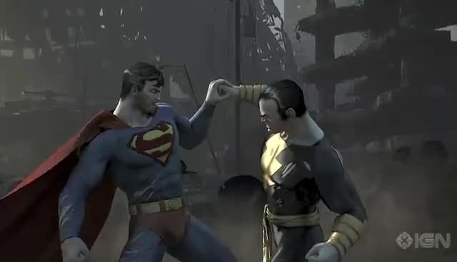 Superman, pissed, Superman heat vision GIFs