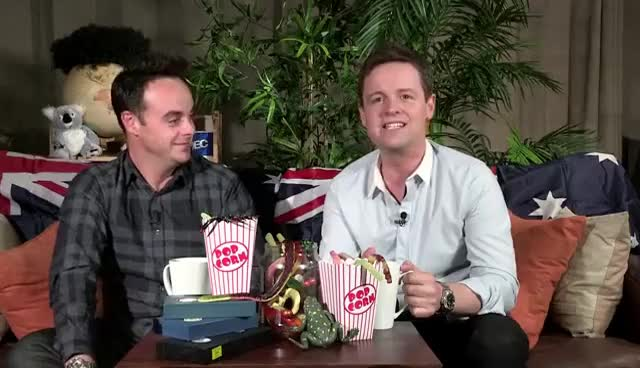 Ant and Dec, Spiders! GIFs