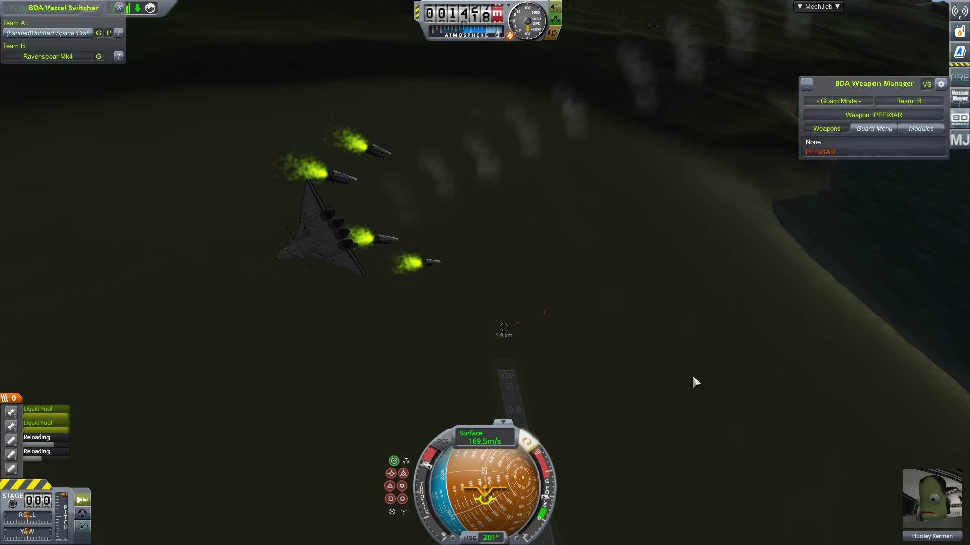 Kerbal Space Program Funnel Test GIFs