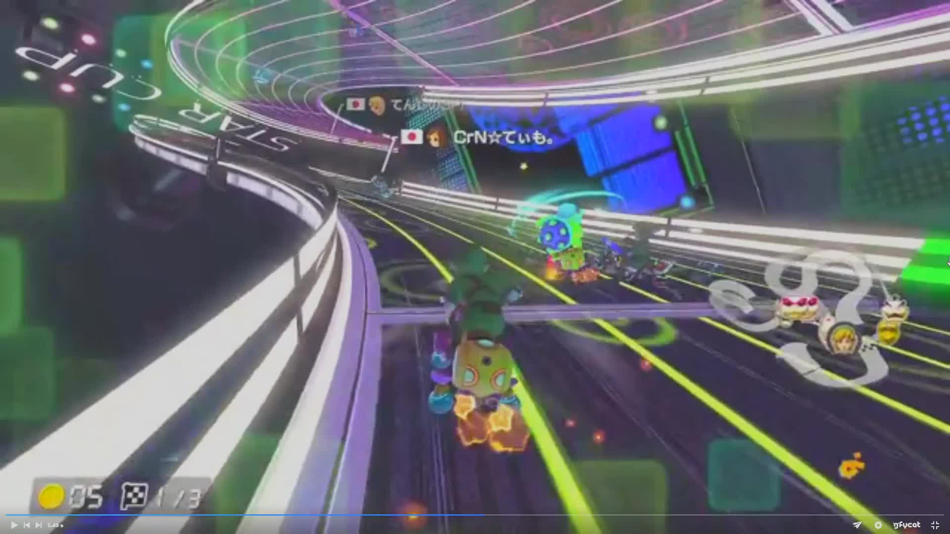 rocketleague, SlowMo - Green shell GIFs