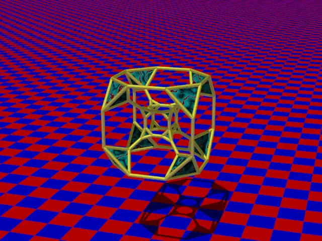 Watch truncated tesseract GIF by Stéphane Lambert (@slambert) on Gfycat. Discover more geometry, povray GIFs on Gfycat