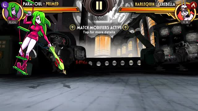 Watch and share Skullgirls Mobile - Parasoul Kite GIFs by moisterrific on Gfycat