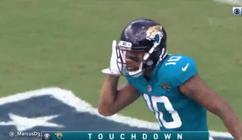 Watch Donte Moncrief touchdown celebration. Jacksonville Jaguars GIF by MarcusD (@-marcusd-) on Gfycat. Discover more related GIFs on Gfycat