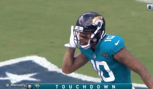 Donte Moncrief touchdown celebration. Jacksonville Jaguars GIFs