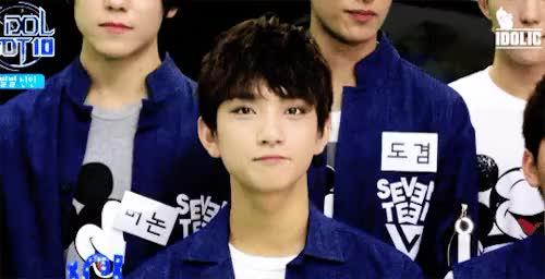 Watch this trending GIF on Gfycat. Discover more Seventeen, bts, bts reactions, bts scenarios, exo imagine, exo reaction, exo reactions, seventeen dino, seventeen dk, seventeen hoshi, seventeen imagines, seventeen jeonghan, seventeen joshua, seventeen jun, seventeen mingyu, seventeen reaction, seventeen s.coups, seventeen scenarios, seventeen seungkwan, seventeen the8, seventeen vernon, seventeen wonwoo, seventeen woozi GIFs on Gfycat