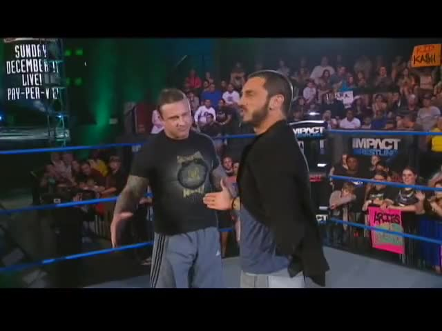 Watch Aries Offers Championship Shot To Kid Kash GIF on Gfycat. Discover more action, aries, austin, impact, kash, kid, spike, sports, tna, wrestling GIFs on Gfycat