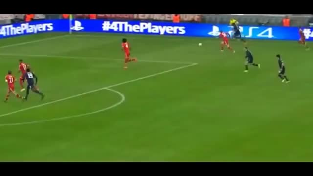 Watch and share Patrice Evra Goal Vs Neuer- Manchester United Vs Bayern Munchen GIFs on Gfycat