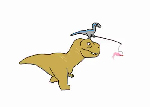 Watch this dinosaur GIF on Gfycat. Discover more blue, blue the raptor, dinosaur, jurassic park, jurassic world, raptor squad, rexy, t rex, tyrannosaurus rex, velociraptor GIFs on Gfycat