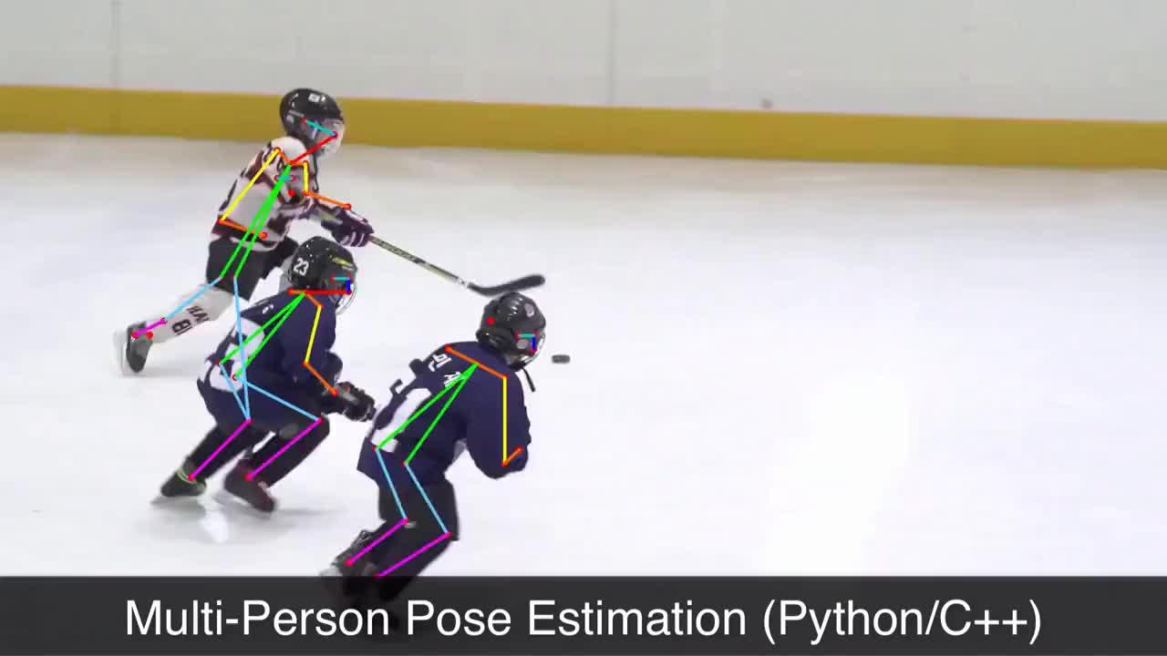 Multi Person Pose Estimation Using Open Pose Open CV C Python