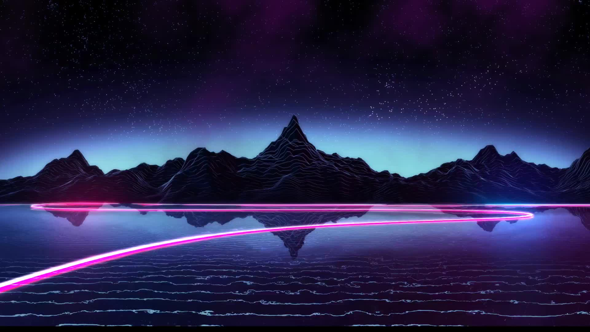 Synthwave gifs search search share on homdor - 4k moving wallpaper ...