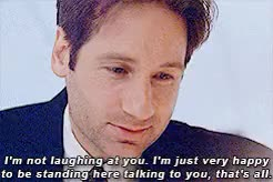 Watch and share David Duchovny GIFs and Dana Scully GIFs on Gfycat