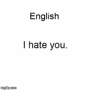 Watch and share I Hate You GIFs and Languages GIFs on Gfycat