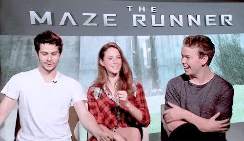Watch and share Maze Runner Cast GIFs on Gfycat