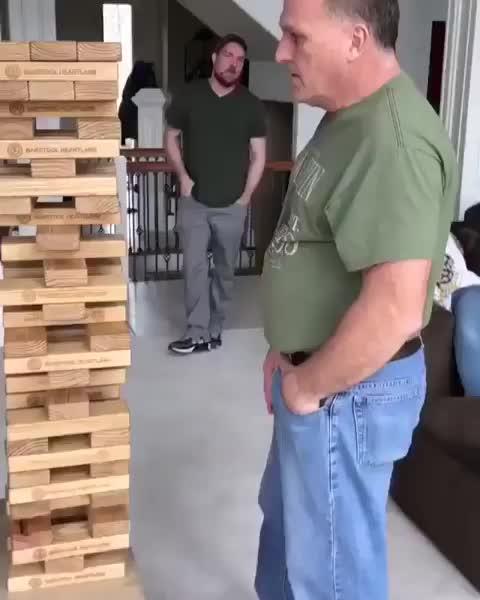 jenga, wow, dad, Jenga level: Dad GIFs