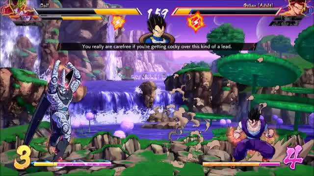 Watch and share DBFZ KvK GIFs on Gfycat