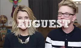 Watch Tyler Oakley & Grace Helbig +Playing With Our Things Rematch GIF on Gfycat. Discover more **, FOLLOW ME, also if u see this HEY TY, auguest, auguest 2015, grace helbig, how cute, k im done bye, lots of fun making this & i love it, mine, my faves, tyler oakley, tyleroakley, ughskjfsdkfjlsdkjflsdkjf GIFs on Gfycat