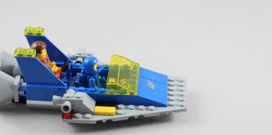 Watch and share Benny-spaceship-emmet-lego-movie-2 GIFs on Gfycat