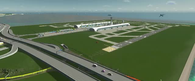 Watch Howie Islands - Airport Timelapse 3 GIF by @bhyip23 on Gfycat. Discover more citiesskylines GIFs on Gfycat