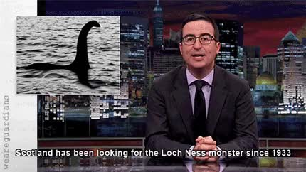 Watch and share Last Week Tonight GIFs and Loch Ness Monster GIFs on Gfycat