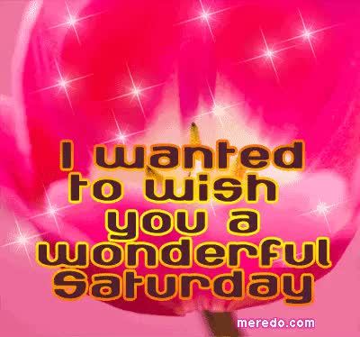 Watch and share Wish You Wonderful Saturday GIFs on Gfycat