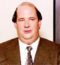 Watch and share The Office, Kevin Malone, Happy GIFs on Gfycat