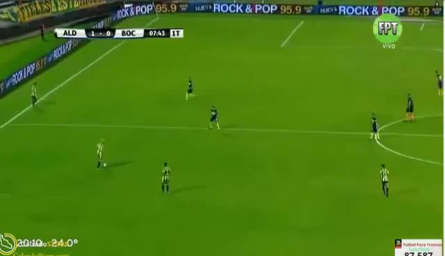 Watch and share Insolito Blooper De Axel Werner Y Gol De Llama - Boca Juniors 0 X 1 Aldosivi GIFs on Gfycat