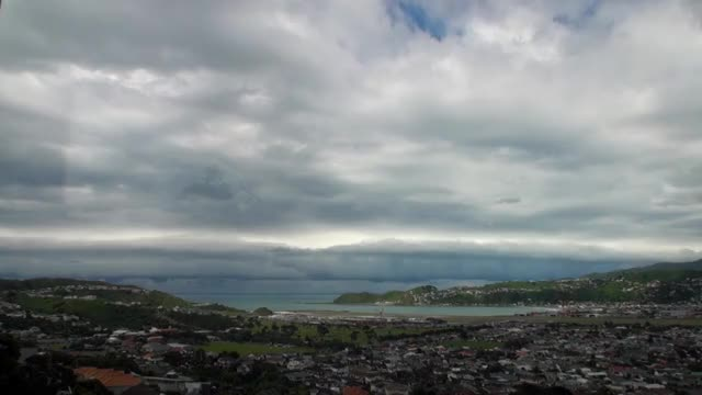 Watch Southerly Front Rolls In To Wellington GIF on Gfycat. Discover more WeatherGifs, weathergifs GIFs on Gfycat